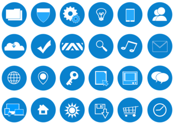 custom made website icons from polydigital marketing