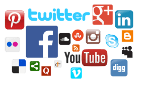 international social media platforms