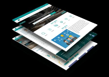 website mockup graphic design services
