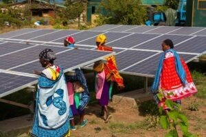 market renewable energy technology in Africa
