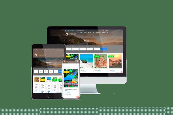 multilingual web development - catalogue web site
