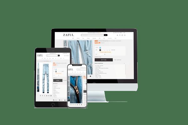 multilingual online shops development