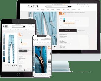 multilingual web development - online shop development
